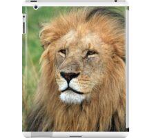 Masai Mara Lion Portrait    iPad Case/Skin
