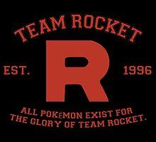 Team Rocket by haliaArtisan