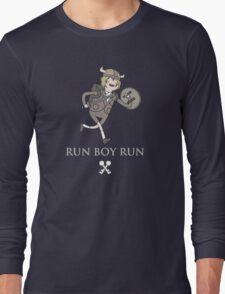 Run Boy Run (Adventure Time parody) Long Sleeve T-Shirt