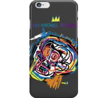 Jean Michel Basquiat Head Version 2 iPhone Case/Skin