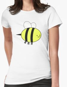 The Bee. Womens Fitted T-Shirt
