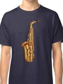 Saxophone Gold  Classic T-Shirt