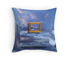 Room Of Illusions Throw Pillow