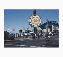 Fishermans Wharf San Francisco California Kids Tee