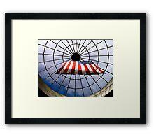 US Overhead Framed Print
