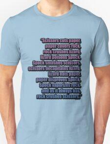 The Big Bang Theory - The Lizard-Spock Expansion T-Shirt