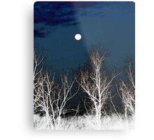 The Moon--Tarot Major Arcana Metal Print