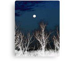 The Moon--Tarot Major Arcana Canvas Print