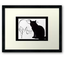 Happiness is... Framed Print