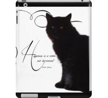 Happiness is... iPad Case/Skin