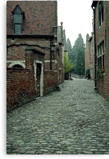 Groot Begijnhof, Leuven, Belgium by Lenka