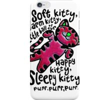 The Big Bang Theory - Soft Kitty iPhone Case/Skin