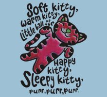 The Big Bang Theory - Soft Kitty by eyevoodoo