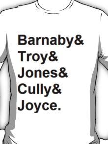 Midsomer Murders - Helvetica List T-Shirt