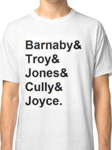 Midsomer Murders - Helvetica List Classic T-Shirt