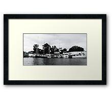 Annapolis River Cruise Framed Print