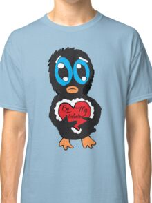 Be My Valentine Penguin Classic T-Shirt