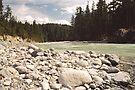 Glacial River, Whistler, British Columbia by Allen Lucas