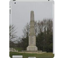 Wadebridge War Memorial, Coronation Park, Cornwall. iPad Case/Skin