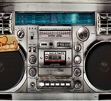 Ghetto Blaster by divografix