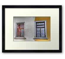 The Division Line Framed Print