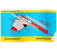 Firearms Safety Poster: NES Zapper edition Poster