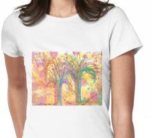 I See Trees That Are Walking  Womens Fitted T-Shirt
