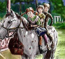 Pippi Longstocking color by la5me