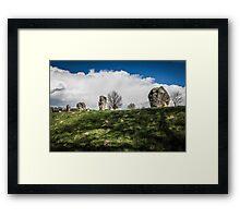 Avebury Henge Stones Framed Print
