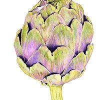 Purple Artichoke by Mariana Musa