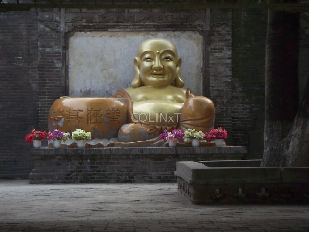 Chinese Budda by COLINxT