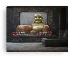 Chinese Budda Canvas Print
