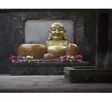 Chinese Budda Photographic Print