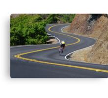 Bicyclist Canvas Print