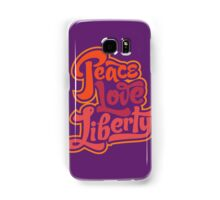 Peace Love Liberty Samsung Galaxy Case/Skin