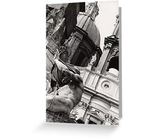 Four Rivers Fountain, Rome Greeting Card