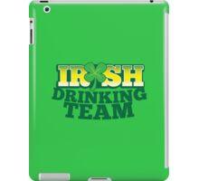 IRISH drinking Team with beer pint and Shamrock iPad Case/Skin