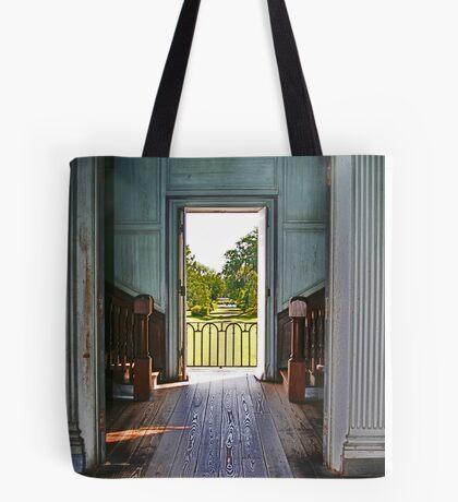 Historic Hallway Tote Bag