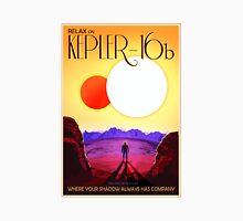 Nasa Travel Poster-Kepler-16b T-Shirt
