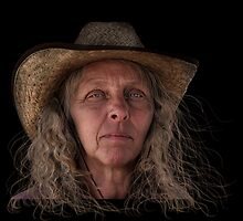 The Face of a Farmer by susi lawson