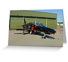 BAe Systems Hawk T.2 ZK021 Greeting Card