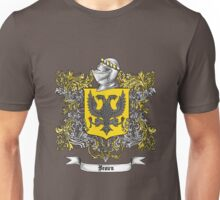 Brown Family Crest 1 Unisex T-Shirt
