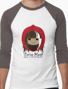 Cerise Hood Men's Baseball ¾ T-Shirt