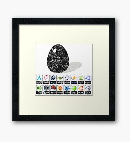LINUX Framed Print