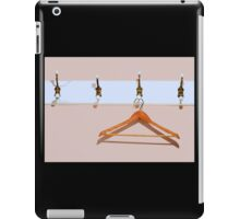 clothes hanger iPad Case/Skin