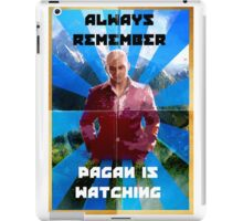 Pagan Is Watching iPad Case/Skin