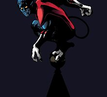 Nightcrawler - X-men by Sam Johnson