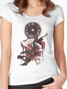 Existence in Time and Space Women's Fitted Scoop T-Shirt
