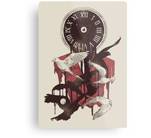 Existence in Time and Space Metal Print