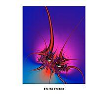 Freaky Freddie Photographic Print